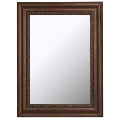 Hitchcock Butterfield 68080X Reflections Turkish Decorated Bronze Framed Wall Mirror