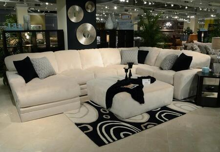 """Jackson Furniture Everest Collection 4377-75-30-72- 163"""" 3-Piece Sectional with Left Arm Facing Chaise, Armless Sofa and Right Arm Facing Section with Corner in"""