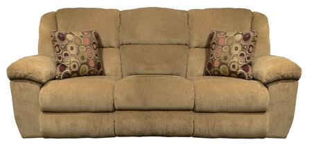"Catnapper Transformer Collection 19445- 90"" Ultimate Sofa with 3 Recliners, 1 Drop-Down Table and Chenille Fabric in"