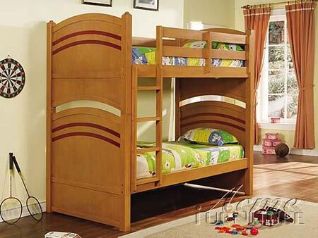 Acme Furniture 01150 Deco Series  Twin Size Bunk Bed