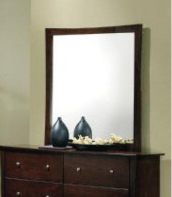 Yuan Tai ML3586M Milano Series Rectangular Portrait Dresser Mirror