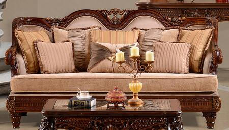 Homey Design HD386S  Stationary Fabric Sofa