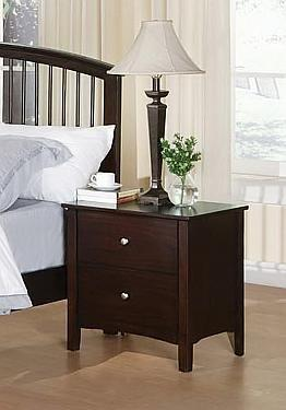 Acme Furniture 06641B Fantasy Series  Wood Night Stand