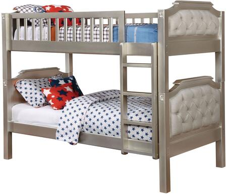 Furniture of America CMBK717BED Beatrice Series  Twin Size Bed