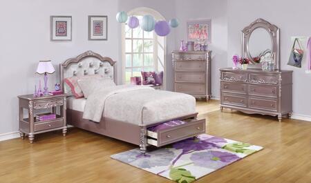 Coaster 400891TS5 Caroline Twin Bedroom Sets