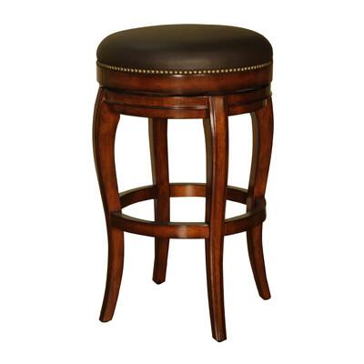 American Heritage 130866 Residential Leather Upholstered Bar Stool