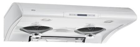 "XO Performance XOA36 36"" Standard Hood Under Cabinet Range Hood With 550 CFM, 6 Speed Control, Filterless Design, Digital Timer Control, High Efficiency Lights, In"