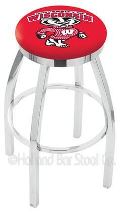 Holland Bar Stool L8C2C25WIBDG Residential Vinyl Upholstered Bar Stool
