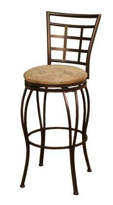 American Heritage 124829CCM41 Licata Series Residential Microfiber Upholstered Bar Stool