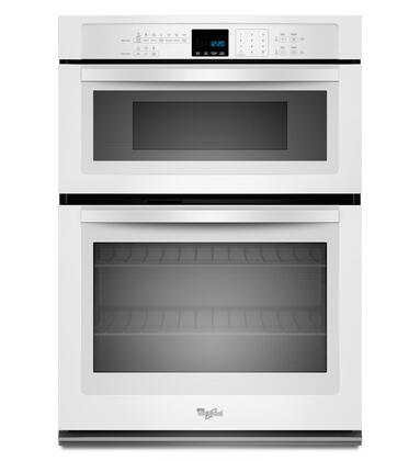 """Whirlpool WOC54EC0AW 30"""" White Oven/Microwave Combo Double Wall Oven"""