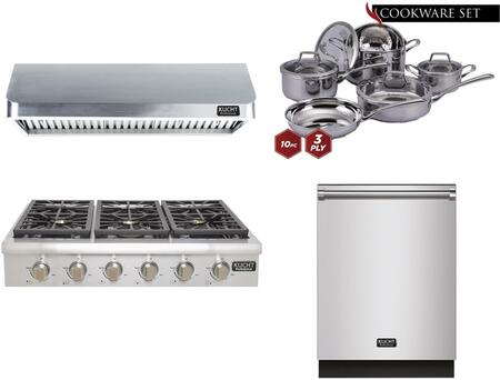 Kucht 810591 Professional Kitchen Appliance Packages