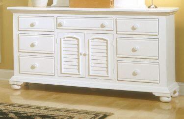 American Woodcrafters 65X0272 Triple Dresser in XXX Finish
