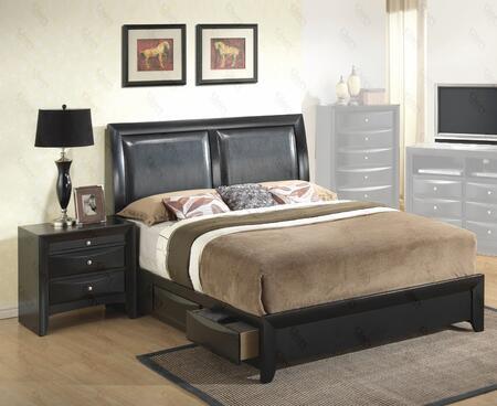 Glory Furniture G1500DDFSB2N G1500D Full Bedroom Sets