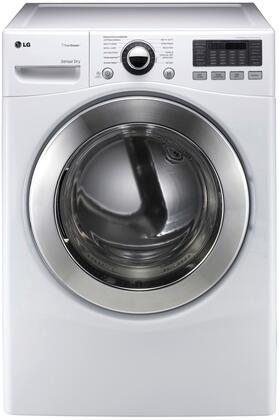 LG DLEX3070W Electric SteamDryer Series Electric Dryer