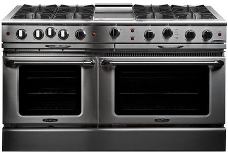 "Capital CGSR604G4L 60"" Culinarian Series Gas Freestanding"