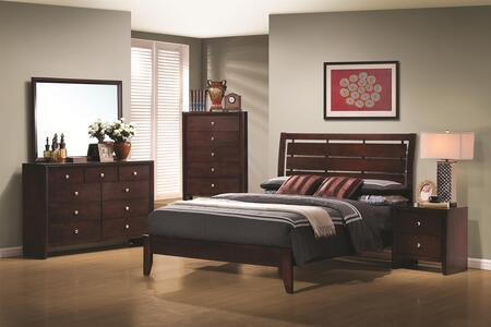 Coaster 201971F6P Serenity Full Bedroom Sets