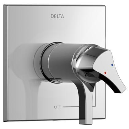Zura T17T074 Delta Zura: TempAssure 17T Series Valve Only Trim in Chrome