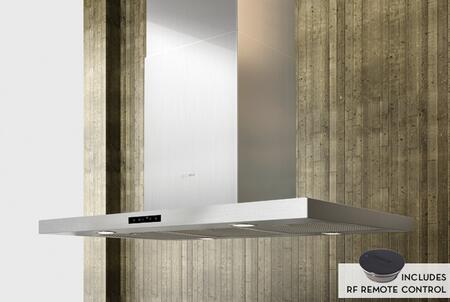Stainless Steel Range Hood with Remote Shown