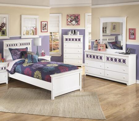 Milo Italia BR205TPBDMC Mendoza Twin Bedroom Sets