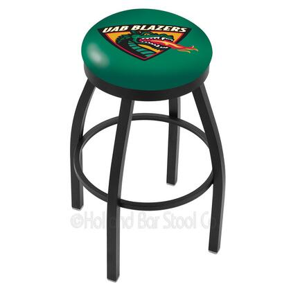 Holland Bar Stool L8B2B30ALABIR Residential Vinyl Upholstered Bar Stool