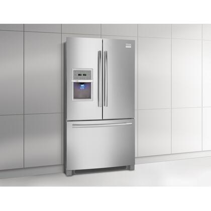 Frigidaire FPHB2899LF Professional Series  French Door Refrigerator with 27.8 cu. ft. Total Capacity 4 Glass Shelves