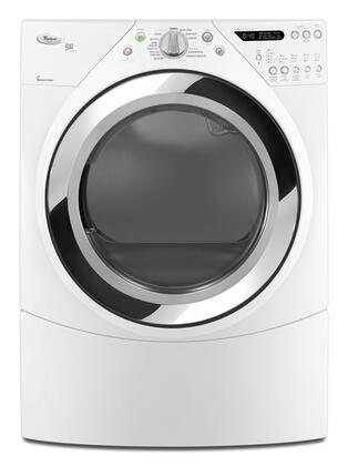Whirlpool WED9470WW Duet Steam Series  Electric Dryer, in White