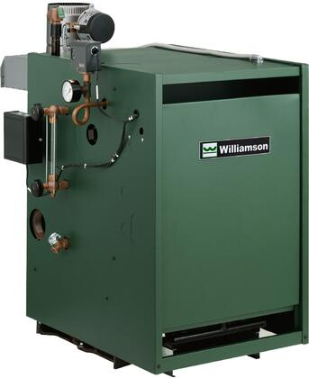 Williamson-Thermoflo GSAxNIP Gas Steam Atmospheric Boiler with x BTU Input, Spark Pilot System, Cast Iron Sections, Rugged Construction and Chimney Vented, in Green