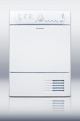 "Ariston TCL73XNAADA 24""  Electric Dryer, in White"