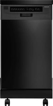 """Frigidaire FFPD1821MB 18"""" 1800 Series Portable Full Console Dishwasher"""