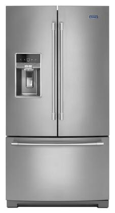 maytag mft2772hez 36 inch stainless steel french door refrigerator rh appliancesconnection com Maytag Repairman Maytag Side by Side Fridge