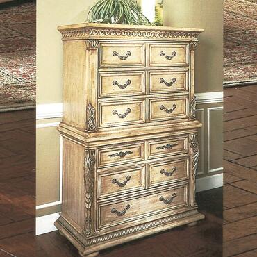Yuan Tai 7505CH Florence Series Wood Chest