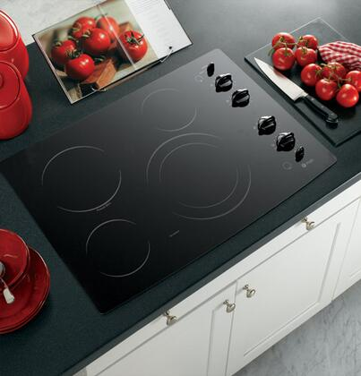 GE Profile PP912BMBB Electric Cooktop