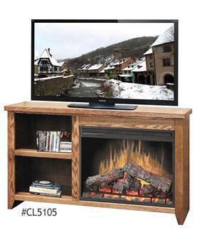 Legends Furniture CL5105GDO City Loft Series  Fireplace