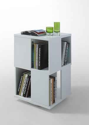VIG Furniture VGWCGA132 Modrest Edifice Series  Wood Magazine Rack