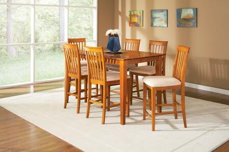 Atlantic Furniture SHAKER3660STPTCL