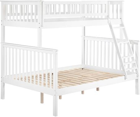 Atlantic Furniture AB562 Woodland Bunk Bed Twin Over Full