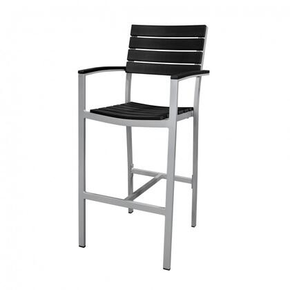 Source Contract SC200201Bar1BLK Commercial Bar Stool