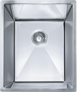 Franke PEX110 Planar 8 Series Undermount Single Bowl Sink in Stainless Steel