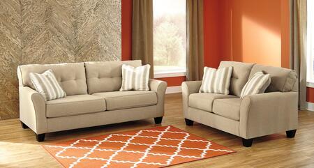 Milo Italia MI1397QSSLKHAK Lizeth Living Room Sets