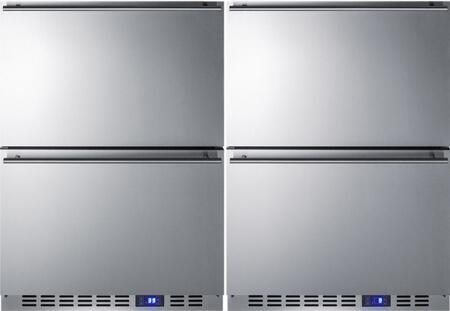 Summit 723948 Classic Drawer Refrigerators