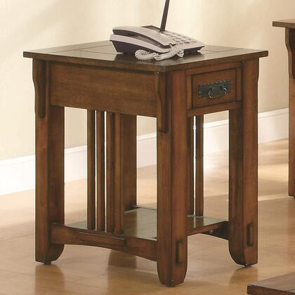 Coaster 702006 702 Series Mission Rectangular End Table