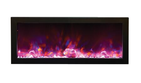Amantii BI88SLIM Panorama Series Wall Mountable Electric Fireplace