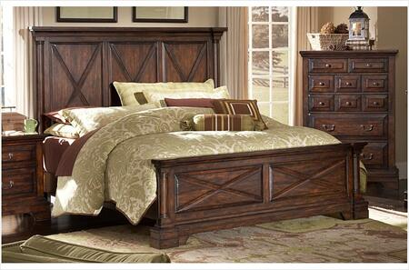 American Woodcrafters 610050PAN  Queen Size Panel Bed
