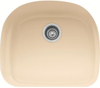 """Franke PRK11021 Prestige Series 21"""" Undermount Single Bowl Fireclay Sink in"""