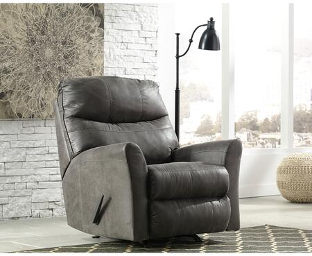 Flash Furniture FSD8729RECSLAGG Tullos Series Contemporary Faux Leather Metal Frame  Recliners