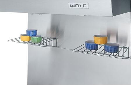 Wolf 8104 Backsplash with Racks for Range Hood