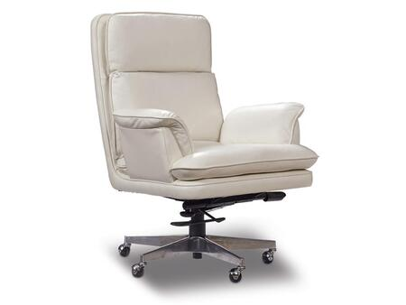 Milestone White Home Office Chair