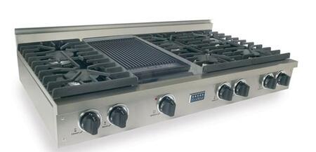 """FiveStar TTN0477 48"""" Gas Sealed Burner Style Cooktop"""