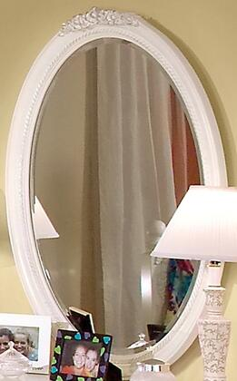 American Woodcrafters 10300030  Oval Portrait Wall Mirror with Wood Frame |Appliances Connection