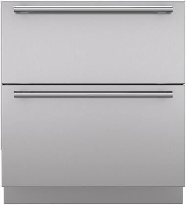 "Sub-Zero 702XXXXXXX Set of 2 Drawer Panels with Toe Kick and Handles for 36"" Refrigerator Models"